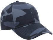 Rothco Supreme Camo Low Profile Cap Midnight Blue Camo 7960