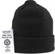 Genuine G.I. Wool Watch Cap Black - 8492