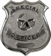 Rothco Special Officer Badge Silver - 1902