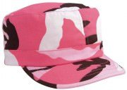Rothco Women's Adjustable Fatigue Cap Pink Camo - 1152