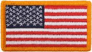 Rothco U.S. Flag Velcro Patch - Full Color / Forward - 17775