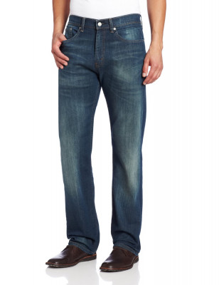 Мужские джинсы Levi's Men's 505 Regular Fit Jean Cash 005051064, фото