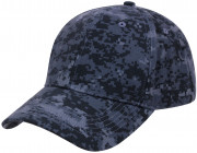 Rothco Supreme Camo Low Profile Cap Midnight Digital Camo 86120