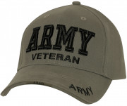 Rothco Deluxe Army Veteran Low Profile Cap Olive Drab 3946