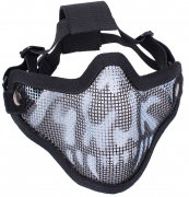 Bravo Tac Gear Strike Steel Half Face Mask 867