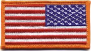 Rothco U.S. Flag Velcro Patch - Full Color / Reverse - 17778