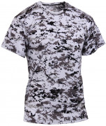 Rothco Polyester Performance T-Shirt City Digital Camo 44050