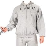 Толстовка Rothco Physical Training Sweatshirt - Grey w/ USMC