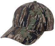 Rothco Supreme Camo Low Profile Cap Smokey Branch Camo 8693