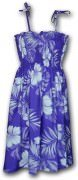 Pacific Legend Hawaiian Tube Dress 332-3589 Purple