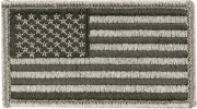 Rothco U.S. Flag Velcro Patch Foliage Green / Forward - 17780