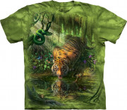 The Mountain T-Shirt Enchanted Tiger 104869