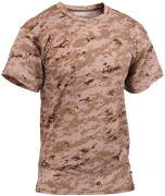 Rothco Polyester Performance T-Shirt Desert Digital Camo 44040