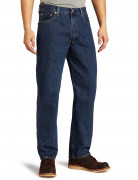 Levi's 550 Relaxed Fit Jeans Dark Stonewash (Big and Tall)