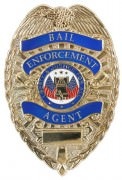Rothco Deluxe Gold Bail Enforcement Agent Badge Gold - 1947
