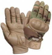 Rothco Flame and Heat Resistant Hard Knuckle Tactical Gloves MultiCam - 3424