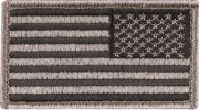 Rothco U.S. Flag Velcro Patch Foliage Green / Reverse - 17779