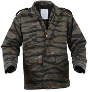 Rothco M-65 Field Jacket  Tiger Stripe Camo - 8713