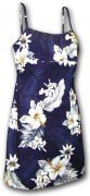Pacific Legend Short Spaghetti Dress - 306-3162 Navy