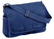 Сумка Rothco Vintage Washed Canvas Messenger Bag - Navy Blue - 8159