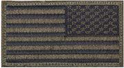 Rothco U.S. Flag Velcro Patch Olive Drab / Reverse - 17786