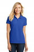 Port Authority Ladies Core Classic Pique Polo True Royal