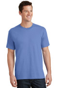 Port & Company Core Cotton Tee PC54 Carolina Blue