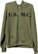 Толстовка Rothco Physical Training Sweatshirt - Olive Drab w/ U.S.M.C.