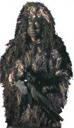 Bushrag The Complete Ghillie Suit Kit Woodland Camo 65110