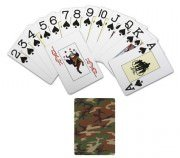 Карты игральные сувенирные Rothco Playing Cards - Woodland Camo - 567