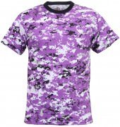 Rothco T-Shirt Ultra Violet Digital Camo 5685