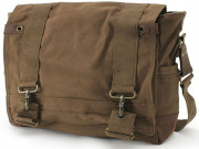 Rothco Vintage Canvas B-15 Pilot Messenger Bag Brown 9134