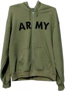 Толстовка Rothco Physical Training Sweatshirt - Olive Drab w/ ARMY