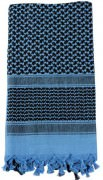 Rothco Shemagh Tactical Desert Scarf Blue / Black - 8537