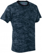 Rothco T-Shirt Midnight Digital Camo 88947