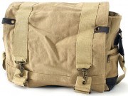 Rothco Vintage Canvas B-15 Pilot Messenger Bag Khaki 9110