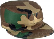 Rothco Gov't Spec 2 Ply Rip-Stop Army Ranger Fatigue Caps Woodland Camo 5645