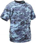 Rothco T-Shirt Sky Blue Digital Camo 8947