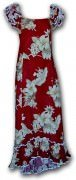 Pacific Legend Long Muumuu Dress - 334-3162 Red