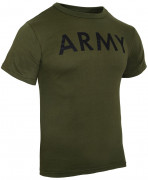 "Rothco Physical Training T-Shirt ""ARMY"" Olive Drab 60136"
