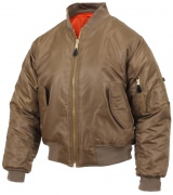 Rothco MA-1 Flight Jacket Coyote Brown 7544