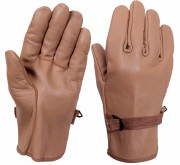 Перчатки кожаные Rothco D-3A Leather Gloves - Coyote # 3183