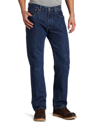 Джинсы мужские Levi's Men's 501 Original Fit Jean / Dark Stonewash # 005010194, фото