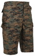 Rothco Long Length BDU Short Woodland Digital Camo 77267