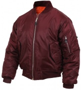 Rothco MA-1 Flight Jacket Maroon 7327