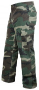 Rothco Vintage Flat Front Cargo Pant Woodland Camo 4871