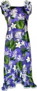 Pacific Legend Long Muumuu Dress - 334-3688 Purple