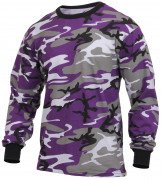 Rothco Long Sleeve T-Shirt Ultra Violet Camo 3592