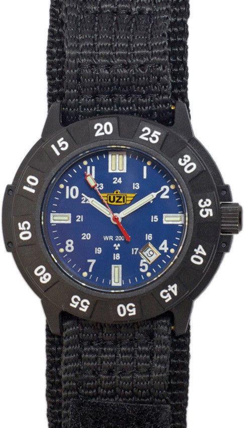 Часы с тритиевой подсветкой UZI® Protector™ Tritium Watch Black 4320 - Часы  с тритиевой 42226014de8e5