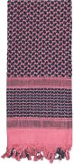 Rothco Shemagh Tactical Desert Scarf Pink / Black - 8537